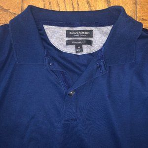 Blue Banana Republic Medium Polo Luxury Touch